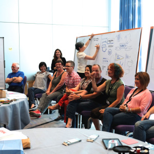 Euviz 2014, IFVP, panel discsussion at GR 101 session, sam bradd, vancouver, what is graphic recording, what is graphic facilitation, vision, visioning, public engagement, conference,  knowledge translation, knowledge transfer, illustration, union, unionized, illustrator, best practice, lettering, best practice, visualization, visual learners, infographic, graphic design, mind map, mind mapping, visual practitioner, creativity, sketch noters, facilitator, graphic translation, conference mapping, conference visuals, conference drawings, dialogue map, dialogue mapper, flipcharting, flipchart artist, graphic capture, group graphics, idea capture, information murals, keynote drawings, keynote artist, live illustrator, live illustration, meeting visuals, scribe, scribing, visual notetaker, visual notetaking, visual thinker, visual thinking, visual notetaking, visual translator, visual synthesis, visualization