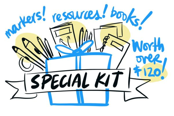 graphic recording workshop vancouver special kit