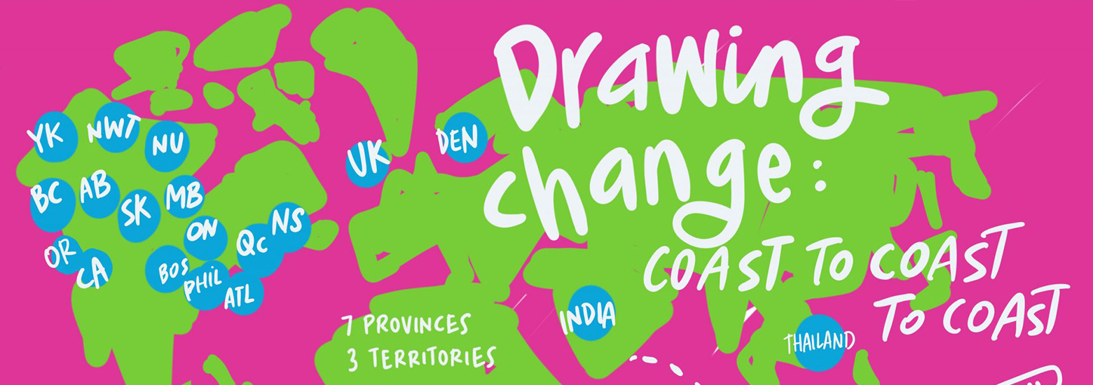 drawing change illustrated map