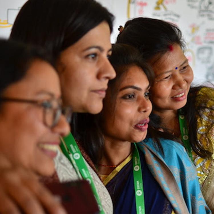 women at Oxfam Nepal