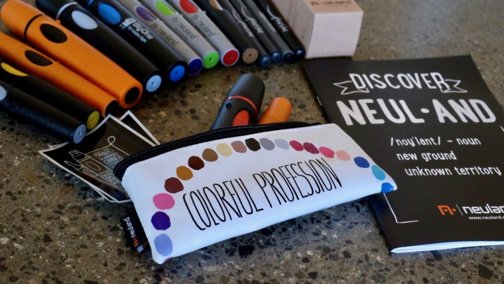 Neuland markers pouch