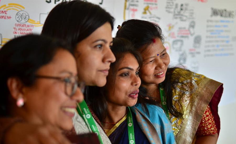 oxfam services nepal women