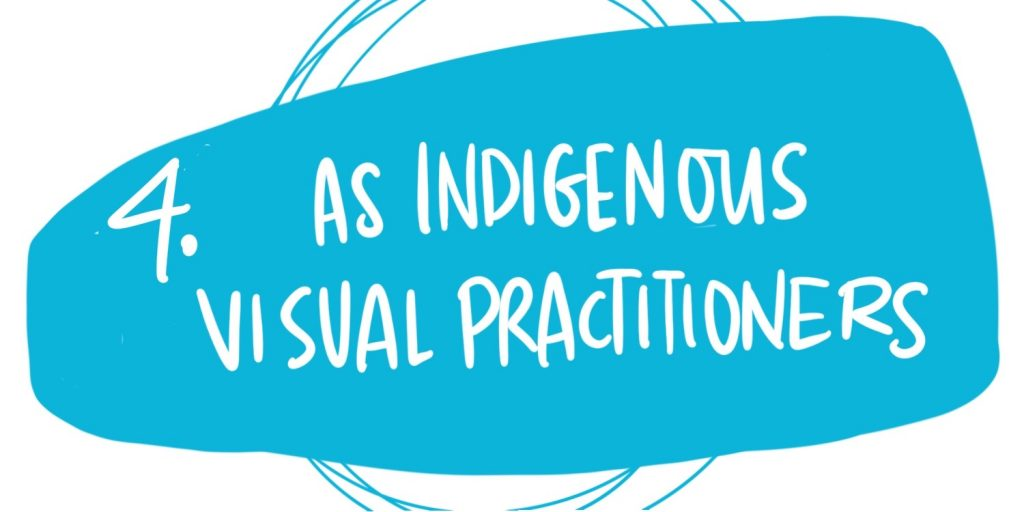 Indigenous cultural safety and graphic recording - as indigneous graphic recorders