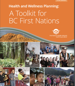 Health and wellness Planning a toolkit for BC First Nations - cover of the report by FNHA