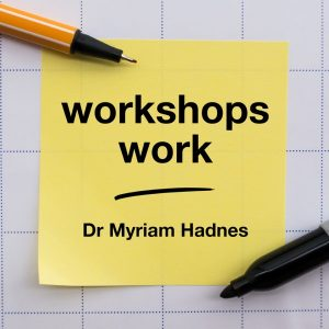 workshops work podcast with dr myriam hadnes