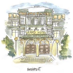 Integral Facilitation 10 Directions program Sam Bradd sketchnotes budapest hotel