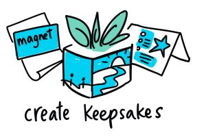 graphic recording after the meeting - create keepsakes