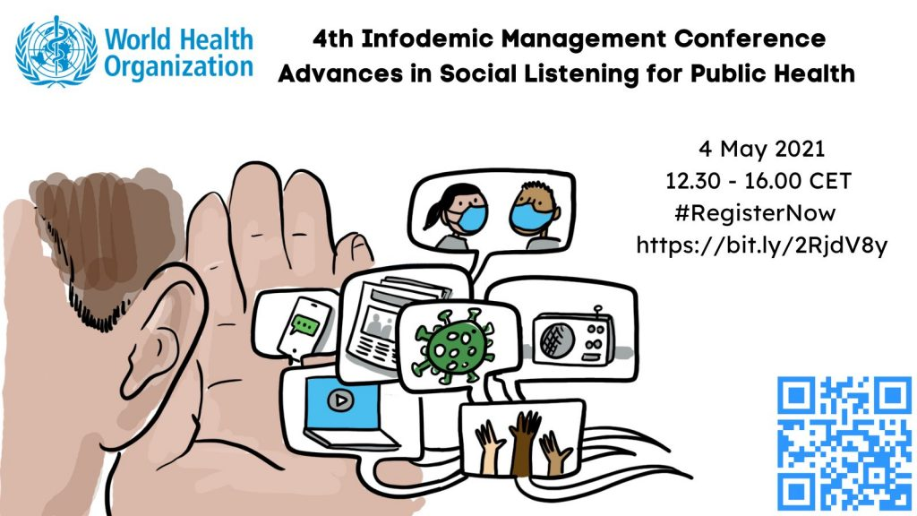 4th Virtual WHO Infodemic Management Conference: Advances in Social Listening for Public Health
