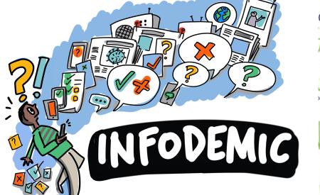 infodemic WHO graphic recording sam bradd drawing change